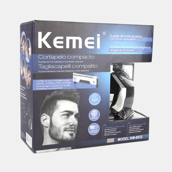 KEMEI All In1 Rechargeable Hair Clipper For Men Waterproof Wireless Electric Shaver Beard Nose Ear Shaver Hair Trimmer Tool Sale