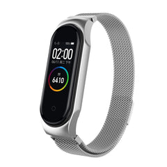 Bakeey Milanese Stainless Replacement Watch Band for Xiaomi Mi Band 4&3 Smart Watch