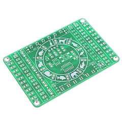 EQKIT SMD Component Soldering Practice Board DIY Electronic Production Module Kit