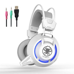PLEXTONE PC835 50mm Driver Unit LED Light Gaming Headset Headphone With Mic