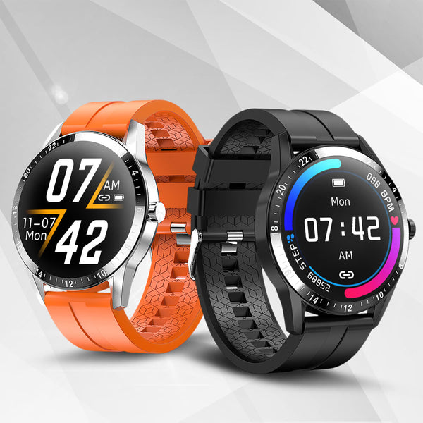 Bakeey G20 bluetooth Call HD Full Touch Wristband Heart Rate Blood Pressure Monitor IP67 Smart Watch