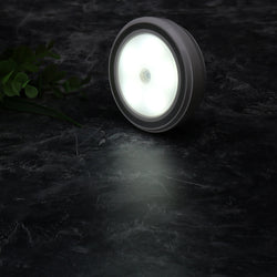 5 LED Wireless PIR Auto Motion Sensor Infrared Night Light Cabinet Stair Lamp