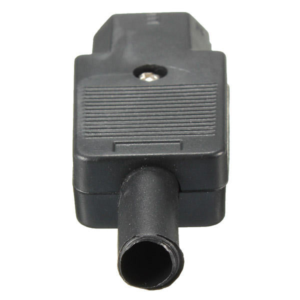 10A 250V IEC 320 C13 3pin Linker Female Mains Connector Black