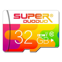 Superduoduo 32GB 64GB Class 10 High Speed Data Storage TF Memory Card for Mobile Phone Tablet PC