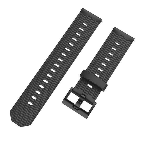 Mijobs 20mm Silicone Wrist Strap Replacement Watch Band for Amazfit Bip Pace Youth Smart Watch