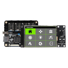 Lerdge X Integrated Controller Board Mainboard + 3.5inch LCD Touch Screen For Reprap 3D Printer