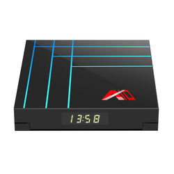 A10 RK3318 4GB RAM 64GB ROM 2.4G Android 9.0 4K VP9 H.265 TV Box