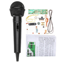 DIY FM Wireless Microphone Electronic Kit FM Electronic Production Parts Training