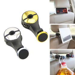 Universal Powerful Magnetic 360 Degree Rotation Headrest Car Holder for Xiaomi Mobile Phone Tablet