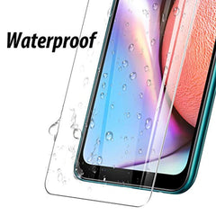 High Quality HD Clear screen protector [3 Pack] UniqueMe Screen Protector for Samsung Galaxy A10s Screen Protector,Tempered Glass HD Clear Anti-Scratch USA Imported Product - EY Shopping