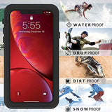 High Quality OUNNE iPhone XR Waterproof Case, Full Sealed Underwater Cover IP68 Certified Dustproof Snowproof Shockproof Waterproof Phone Case for iPhone XR (Clear) USA Imported Product - EY Shopping