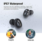 High Quality Otium Wireless Earbuds Bluetooth 5.0 Headphones Deep Bass 3D Stero Sound Mini Headsets 40H Total Playtime with Charging Case IPX7 Waterproof Built-in Mic Earphones for Work, Sports, Driving USA Imported Product - EY Shopping