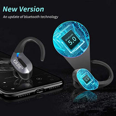 High Quality Wireless Earbuds,GRDE Bluetooth 5.0 Headphones 50H Playtime Bluetooth Earbuds TWS 3D Stereo Sound Noise Canceling in Ear Wireless Earphones with Charging Case for Work Sports[Upgraded] USA Imported Product - EY Shopping