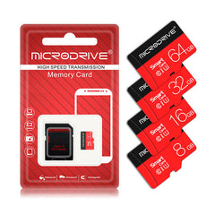 MicroDrive 8GB 16GB 32GB 64GB 128GB U3 Class 10 High Speed TF Memory Card With Card Adapter For Smart Phone Tablet PC GPS Camera Car DVR
