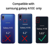 SKTGSLAMY New High Quality  Galaxy A10E Case, Samsung A10E Case, [Shockproof] Tough Rugged Dual Layer Protective Case Hybrid Kickstand Cover for Samsung Galaxy A10E (Blue) USA Imported Product
