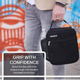 MAZFORCE Original Lunch Bag Insulated Lunch Box - Tough & Spacious Adult Lunchbox to Seize Your Day (Black- Lunch Bags Designed in California for Men, Adults, Women)USA Imported Product - EY Shopping
