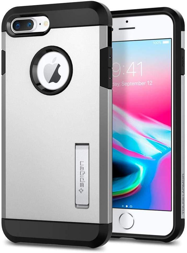 High Quality Spigen Tough Armor [2nd Generation] Designed for Apple iPhone 8 Plus Case (2017) / Designed for iPhone 7 Plus Case (2016) - Black USA Imported Product - EY Shopping
