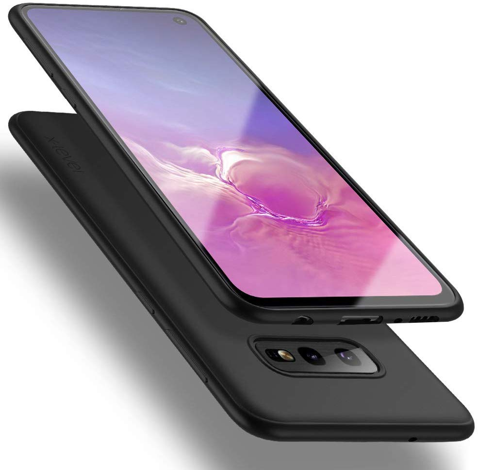 X-level Samsung Galaxy S10e Case, New High Quality, Slim Fit Soft TPU Ultra Thin S10e Mobile Phone Cover Matte Finish Coating Grip Phone Case for Women Compatible Samsung Galaxy S10e (2019)-Black USA Imported Product