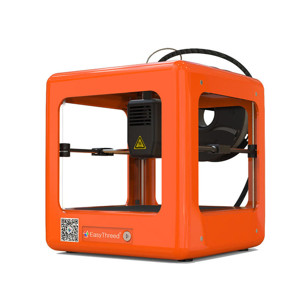 Easythreed Orange NANO Mini Fully Assembled 3D Printer 90*110*110mm Printing Size