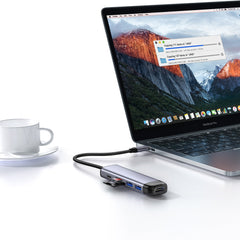 MCDODO 6 In 1 USB-C Hub Docking Station Adapter With 100W USB-C PD3.0 Power Delivery / 4K HDMI HD Display / 2 * USB 3.0 / Memory Card Readers