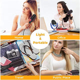 The handle is handmade and comfy to hold, One Step Hair Dryers & Volumizer, Lanic 3 in 1 Hot Air Brush Negative Ion Generator Hair Dryer Brush for Dry, Straighten, Curling,Hair Styling Tool with Negative Ionic Technology for All types Hair USA Imported Pr