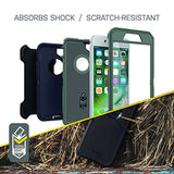 High Quality OtterBox Defender Series Case for iPhone 8 & iPhone 7 (Not Plus) - Frustration Free Packaging - Black USA Imported Product - EY Shopping