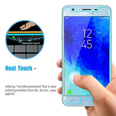 High Quality HD Clear screen protector [2-Pack] Samsung Galaxy J3 (2018) Glass Screen Protector - J337 J337P J337A J337V Galaxy J3 Achieve 2018 Express Prime 3 J3 2018 High Clear Anti Scratch Tempered Glass Screen Protector USA Imported Product - EY Shopping