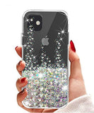 High Quality SunStory Designed for iPhone 11 Case,Luxury Fashion with Moving Shiny Quicksand Glitter and Double Protection with PC Layer and TPU Bumper Case for iPhone 11 6.1 Phone (Silver) USA Imported Product - EY Shopping