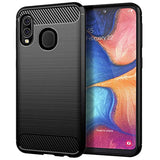 MAIKEZI New High Quality Samsung Galaxy A10E Case, Samsung Galaxy A20E Case, Soft TPU Brushed Anti-Fingerprint Full-Body Protective Phone Case Cover for Samsung Galaxy A20E(Black Brushed TPU) USA Imported Product
