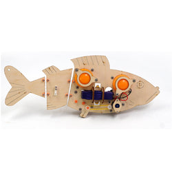 DIY RC Robot Fish STEAM Educational Kit Robot Toy Gift