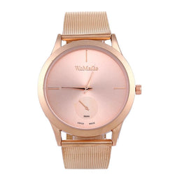 Casual Style Ladies Watch Stainless Steel Strap Quartz Wristwatch