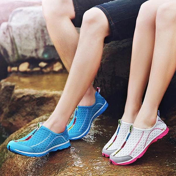 Unisex Sport Shoes Water Shoes Casual Breathable Outdoor Comfortable Mesh Athletic Shoes - EY Shopping