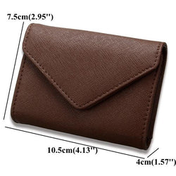 RFID Microfiber Leather Multi Slot 13 Card Slots Card Holder Pure Coin Bags