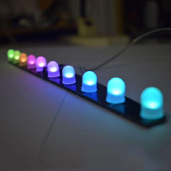 Geekcreit DIY C51 RGB Colorful Crystal LED Aurora Colorful Flashing Light Kit