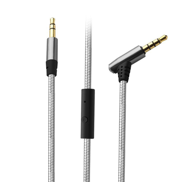 Tsumbay 3.5mm Male to Male AUX Cable 1M with Microphone for Headphones