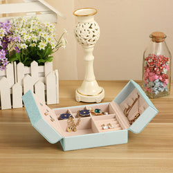 Creative Bow Jewelry Storage Box Birthday Gift Ring Earrings Necklace Container Case