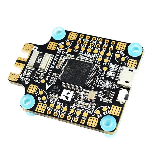 30.5x30.5mm Matek System F722-SE F7 Dual Gryo Flight Controller w/ OSD BEC Current Sensor Black Box for RC Drone FPV Racing