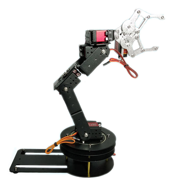 DIY 6DOF Matel RC Robot Arm Educational Kit