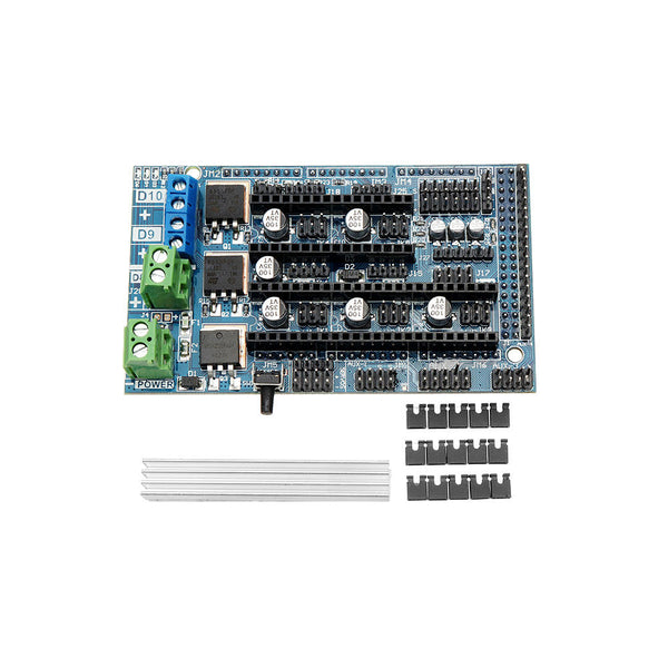 Upgrade Ramps 1.6 Base On Ramps 1.5 Control Panel Mainboard Expansion Board For 3D Printer Parts
