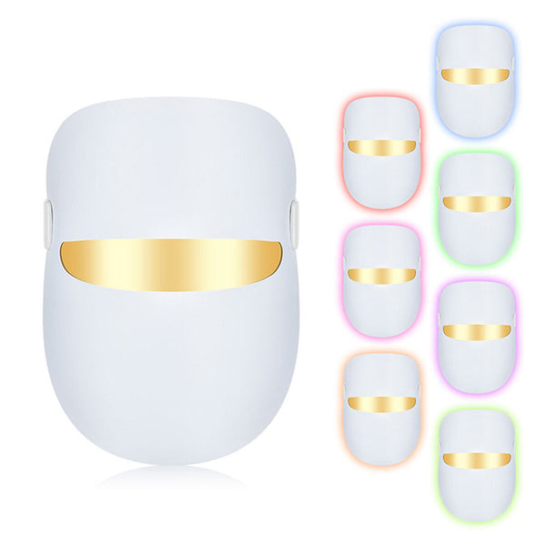 7 Colors LED Photon Therapy Light Mask Therapy for Wrinkle Acne Skin Rejuvenation Firming Lift PDT Skin Care Mask