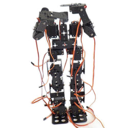 DIY 17DOF RC Dancing Robot Educational Walking Race Robot Kit