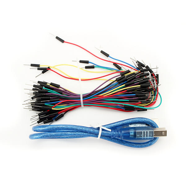 UNO R3 Module Mini Breadboard Jumper Starter Kit For Basic