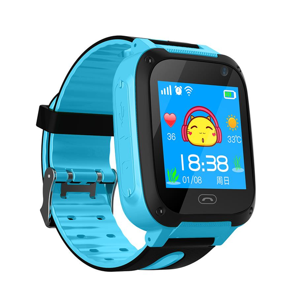 V6 SOS Position Call LBS Locator Support Camera SIM Card Children Phone Kids Security Smart Watch