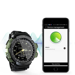 LOKMAT MK28 1.14'' IPS Color Screen IP68 Waterproof Smart Watch Remote Camera Stopwatch Goal Management Fitness Sports Bracelet