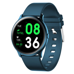 KINGWEAR KW19 Heart Rate Blood Pressure O2 Monitor Weather Push Music Camera Control Brightness Adjust Fitness Tracker Smart Watch