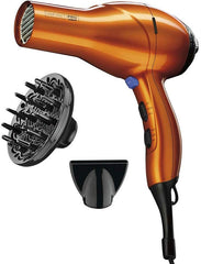 INFINITIPRO BY CONAIR 1875 Watt Salon Performance AC Motor Styling Tool/Hair Dryer; Orange USA Imported Product
