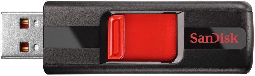 Lightweight design SanDisk Cruzer 128GB USB 2.0 Flash Drive (SDCZ36-128G-B35) USA Imported Product - EY Shopping
