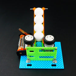DIY Electric Ball Shooting Machine Robot Toy Assembled Toy For Chidren