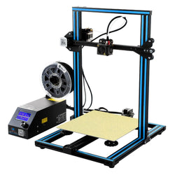 Creality 3D CR-10 Blue DIY 3D Printer Kit 300*300*400mm Printing Size 1.75mm 0.4mm Nozzle
