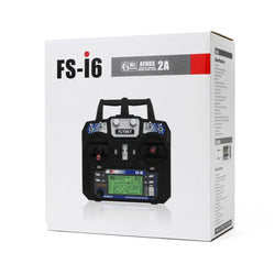 FlySky FS-i6 2.4G 6CH AFHDS Remote Control Transmitter With FS-R6B Receiver For RC FPV Drone - Mode 1
